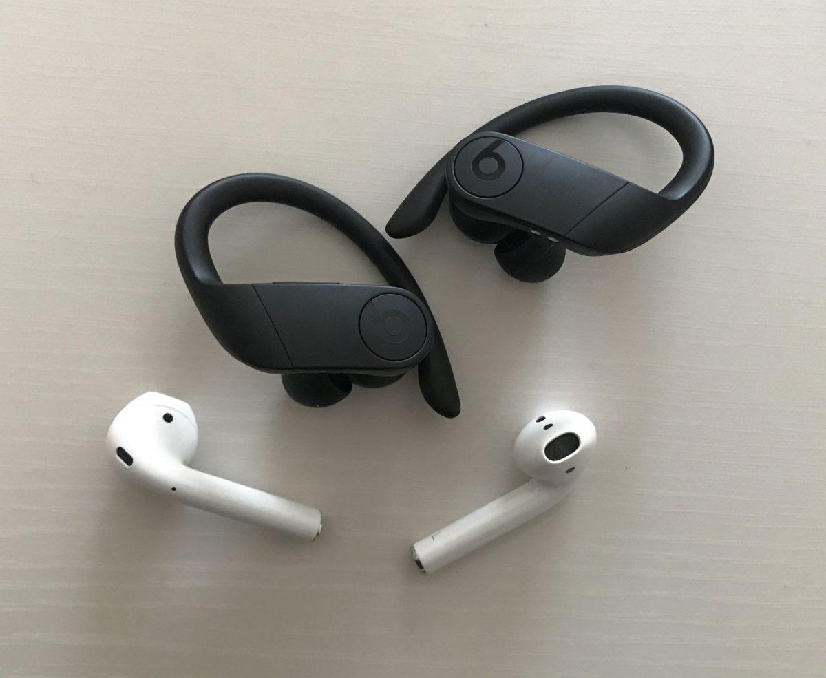 [apple]AirpodsとPowerbeats Proを比較してみたよ[どっち買う?]